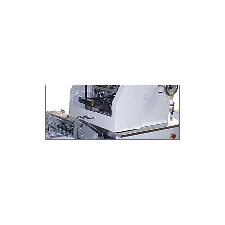 leafletFOLDER NET 21 for folding pharmaceutical inserts Post Press MB Bauerle