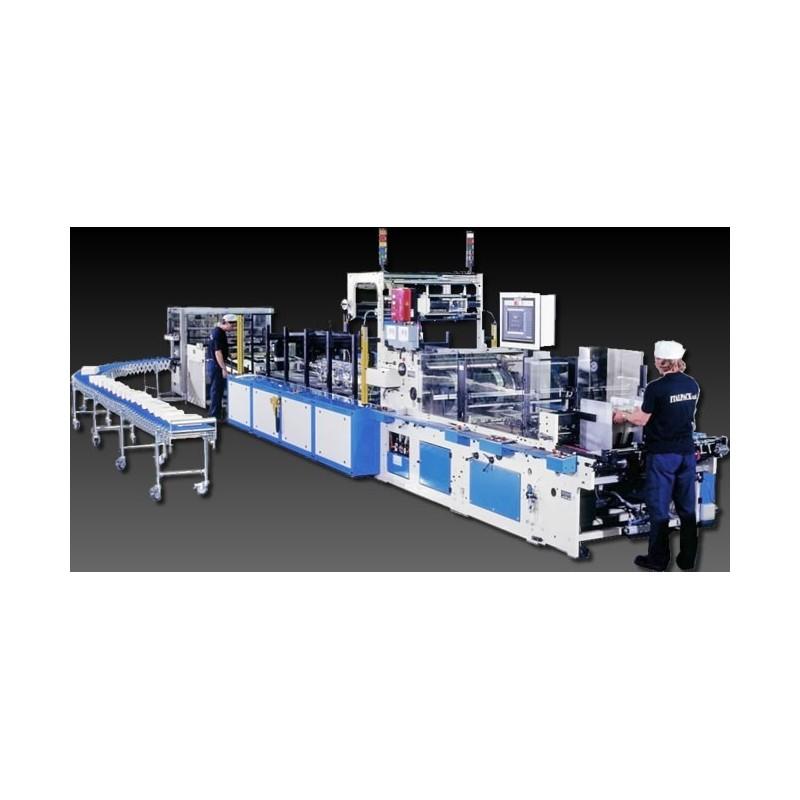 WSM опаковъчна машина за кутии за сокове