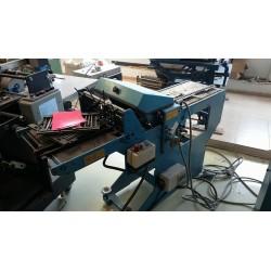 used folding machine Herzog Heymann KL 112 Post Press Herzog Heymann