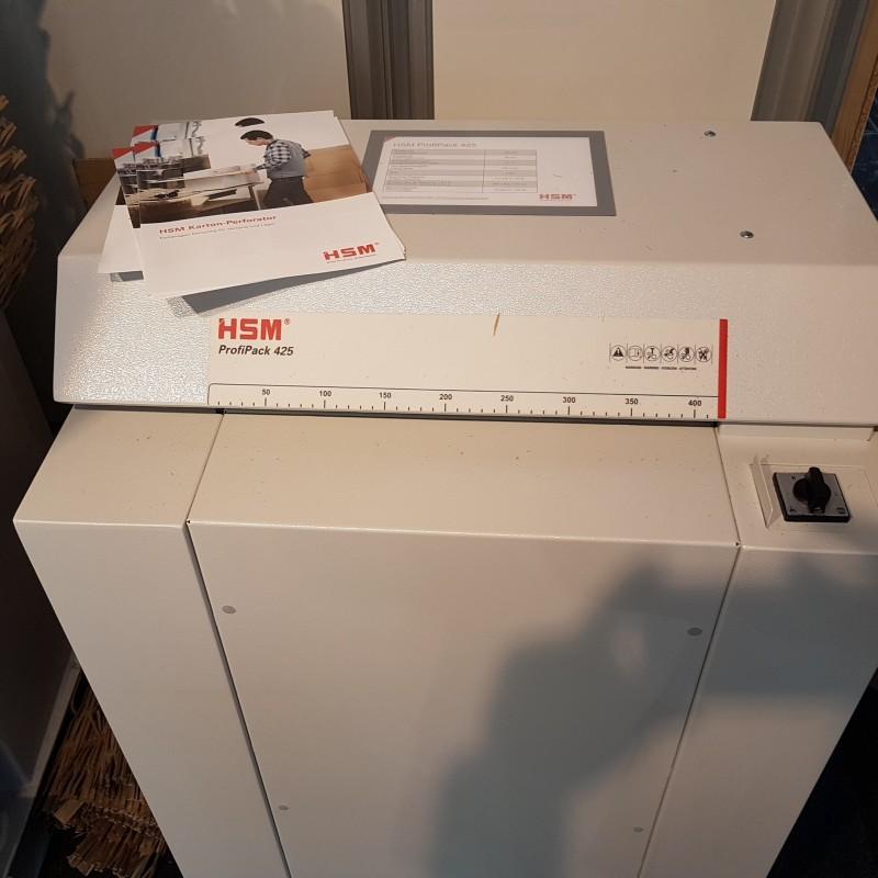 шредираща машина за опаковане Profipack 425