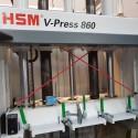 балираща преса V Press 860