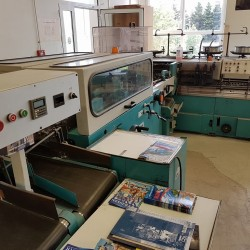 used saddle stitcher Brehmer McCain- 6000 euro loc Post Press
