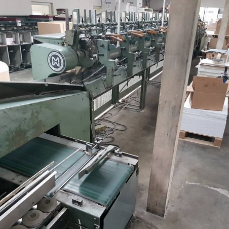 19 000 euro LOC used binding line Mueller Martini PANDA Post Press Muller Martini