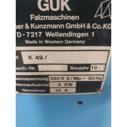 GUK K 49 -5000 euro loc