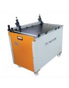One semiautomatic grooving machine model DA 140 Post Press