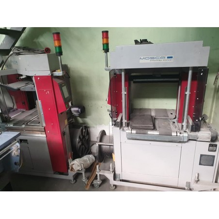 MOSCA cross strapping units Post Press