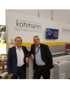Inline inspection with Kohmann Folder Gluers KOHMANN