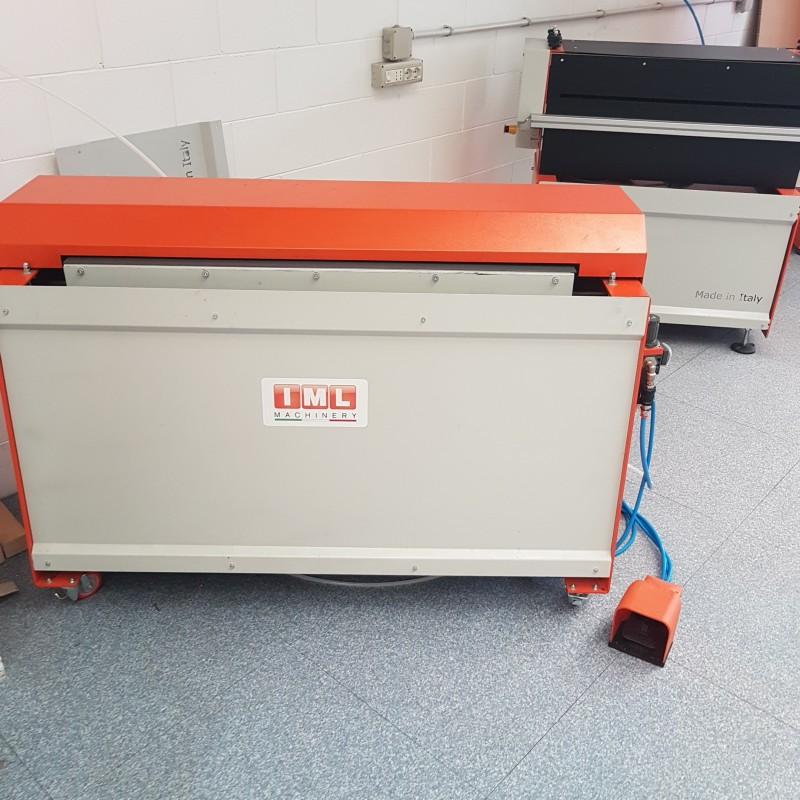 PNEUMATIC TURNING-IN MANUAL MACHINE DA 300 Post Press IML