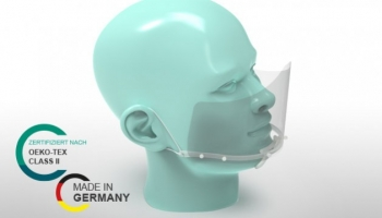 Renz manufactures protective face shields